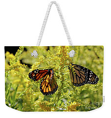 Butterfly In Fall  Weekender Tote Bag