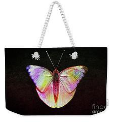 Butterfly In Retro  Weekender Tote Bag