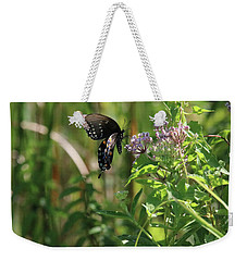 Butterfly In The Sun Weekender Tote Bag