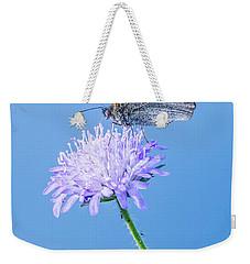 Butterfly Weekender Tote Bag by Jaroslaw Grudzinski