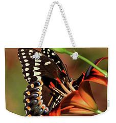 Butterfly Kiss 2 Weekender Tote Bag