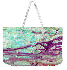 Butterfly Mind - Large Colorful Pastel Abstract Art Painting Weekender Tote Bag