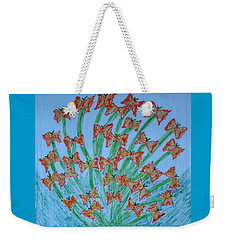 Butterfly Motion Weekender Tote Bag