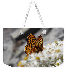 Butterfly On Table Mountain Weekender Tote Bag