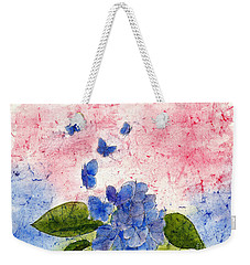 Butterflies Or Hydrangea Flower, You Decide Weekender Tote Bag