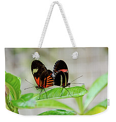 Butterfly Pair Weekender Tote Bag