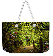 Butterfly Princess Weekender Tote Bag