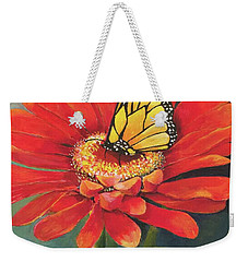 Butterfly Rest Weekender Tote Bag