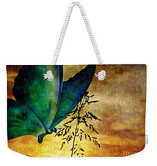 Butterfly Sunrise Weekender Tote Bag