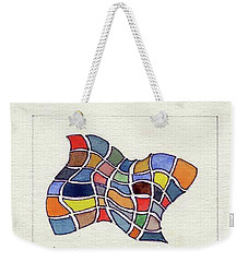 Butterfly Watercolor Weekender Tote Bag