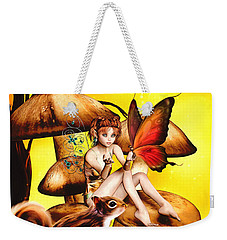 Butterfly Wing Envy Weekender Tote Bag
