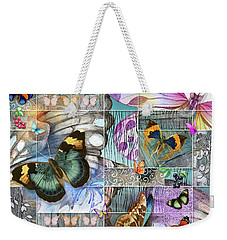 Butterfly Wings Collage Weekender Tote Bag