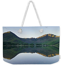 Buttermere Reflections Weekender Tote Bag by Stephen Taylor