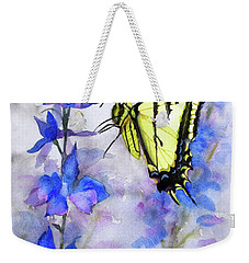 Butteryfly Delight Weekender Tote Bag