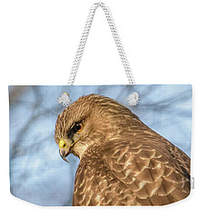 Buzzard Close Up Weekender Tote Bag by Matt Malloy