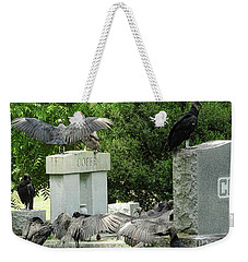 Buzzards Of Smithfield Weekender Tote Bag by Melissa Messick