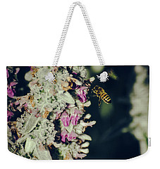 Buzzing In My Lamb's Ear Weekender Tote Bag