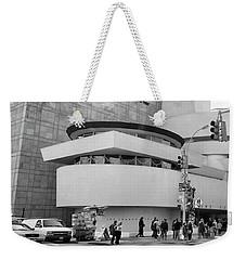 Bw Guggenheim Museum Nyc  Weekender Tote Bag