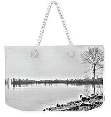 Bw Peaceful  Weekender Tote Bag by Chuck Kuhn