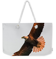 Weekender Tote Bag featuring the photograph By Dawn's Early Light by Jeff at JSJ Photography