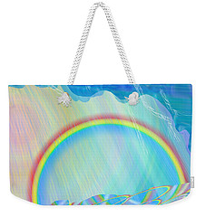By Day And By Rain Weekender Tote Bag