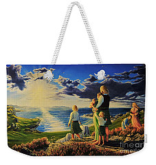 By God's Grace Weekender Tote Bag
