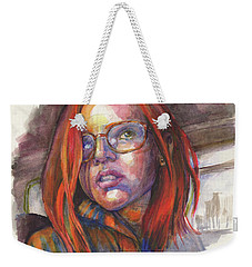 By Greyhound, At The Golden Hour Weekender Tote Bag