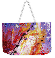 By Herself 3 Weekender Tote Bag by Jasna Dragun