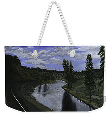 By Rail Weekender Tote Bag