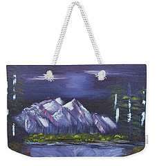 By Silvery Moonlight Weekender Tote Bag