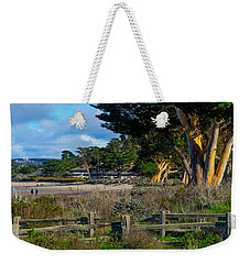 By The Beach Weekender Tote Bag by Derek Dean