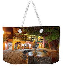 By The Fountain Weekender Tote Bag
