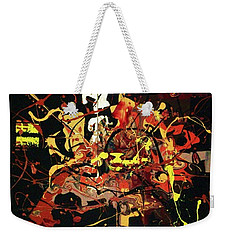 By The Light Of The Cackling Moon Weekender Tote Bag