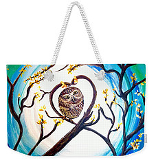 By The Light Of The Moon I Will Find You Weekender Tote Bag