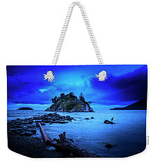 Weekender Tote Bag featuring the photograph By The Light Of The Moon by John Poon