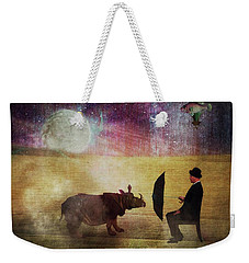 By The Light Of The Moon Weekender Tote Bag by Terry Fleckney