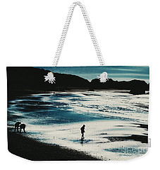 By The Light Of The Silvery Moon Weekender Tote Bag