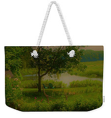 By The Little River Weekender Tote Bag