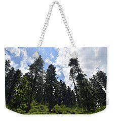 By The Mountains Weekender Tote Bag