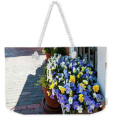 By The Nantucket Boat Basin Weekender Tote Bag