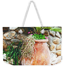 Weekender Tote Bag featuring the photograph By The Roadside by B Wayne Mullins