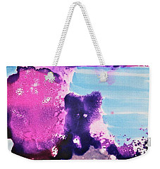 Weekender Tote Bag featuring the painting By The Sea by Michele Myers