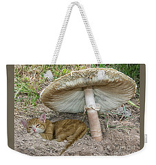 By The Shade Of The Old Mushroom Tree Weekender Tote Bag