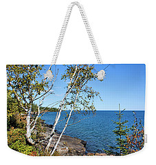 By The Shores Of Gitche Gumee Weekender Tote Bag