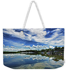 By The Still River Weekender Tote Bag