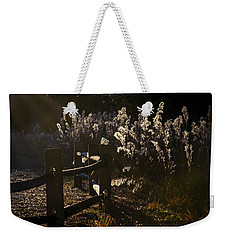 Weekender Tote Bag featuring the photograph By The Way by Steven Sparks