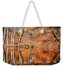 Weekender Tote Bag featuring the photograph Bycyle by Okan YILMAZ