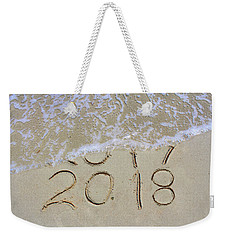 Bye Bye 2017 Welcome2018 Weekender Tote Bag