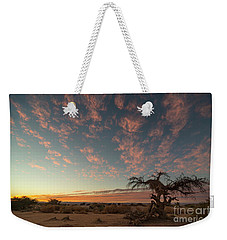 Bye Bye To Sunset Weekender Tote Bag