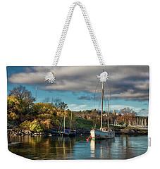 Bygdoy Harbor Weekender Tote Bag